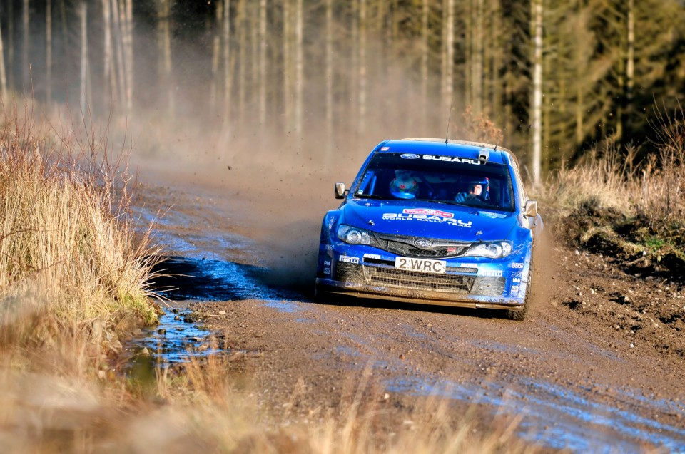 Wales Rally GB 2008